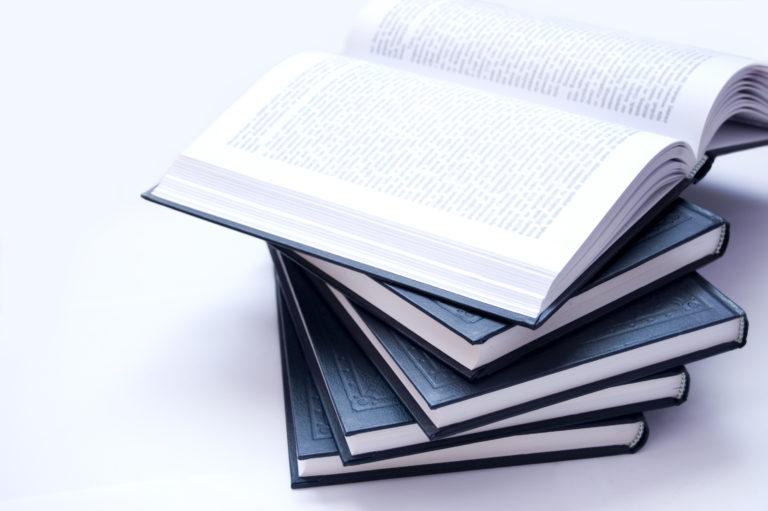 stacked books Porteo